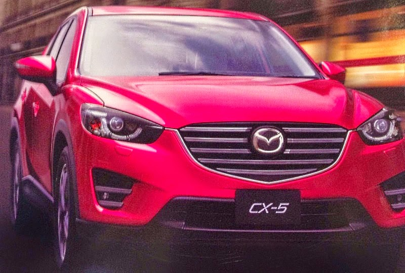 erste bilder so kommt der neue mazda cx 5 facelift. Black Bedroom Furniture Sets. Home Design Ideas