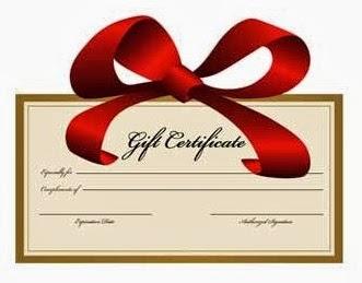 Keurig gift certificate