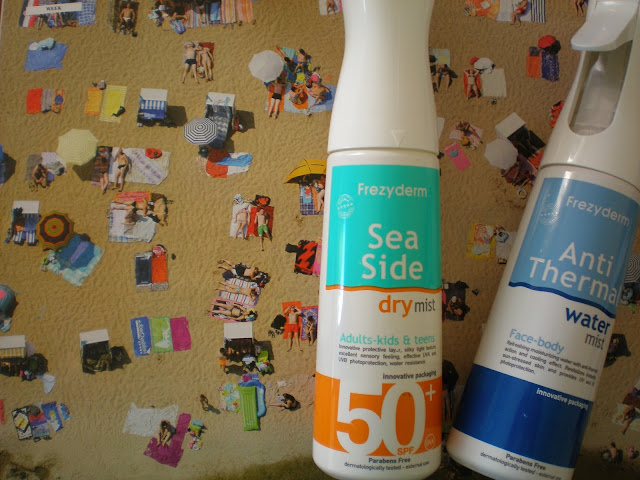 Frezyderm Sea Side Dry Mist spf50+ and Anti-Thermal Water Mist