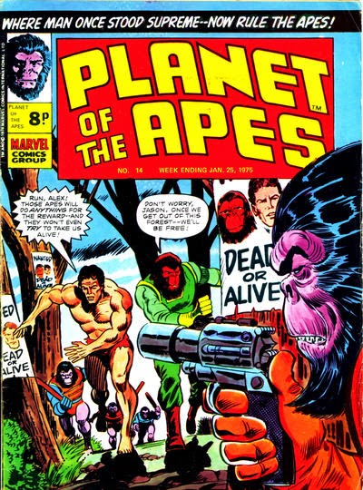 Marvel UK Planer of the Apes #14