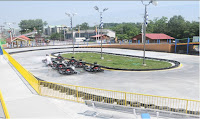 Go-kart racing in Pigeon Forge