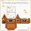 DIY gingerbread box: