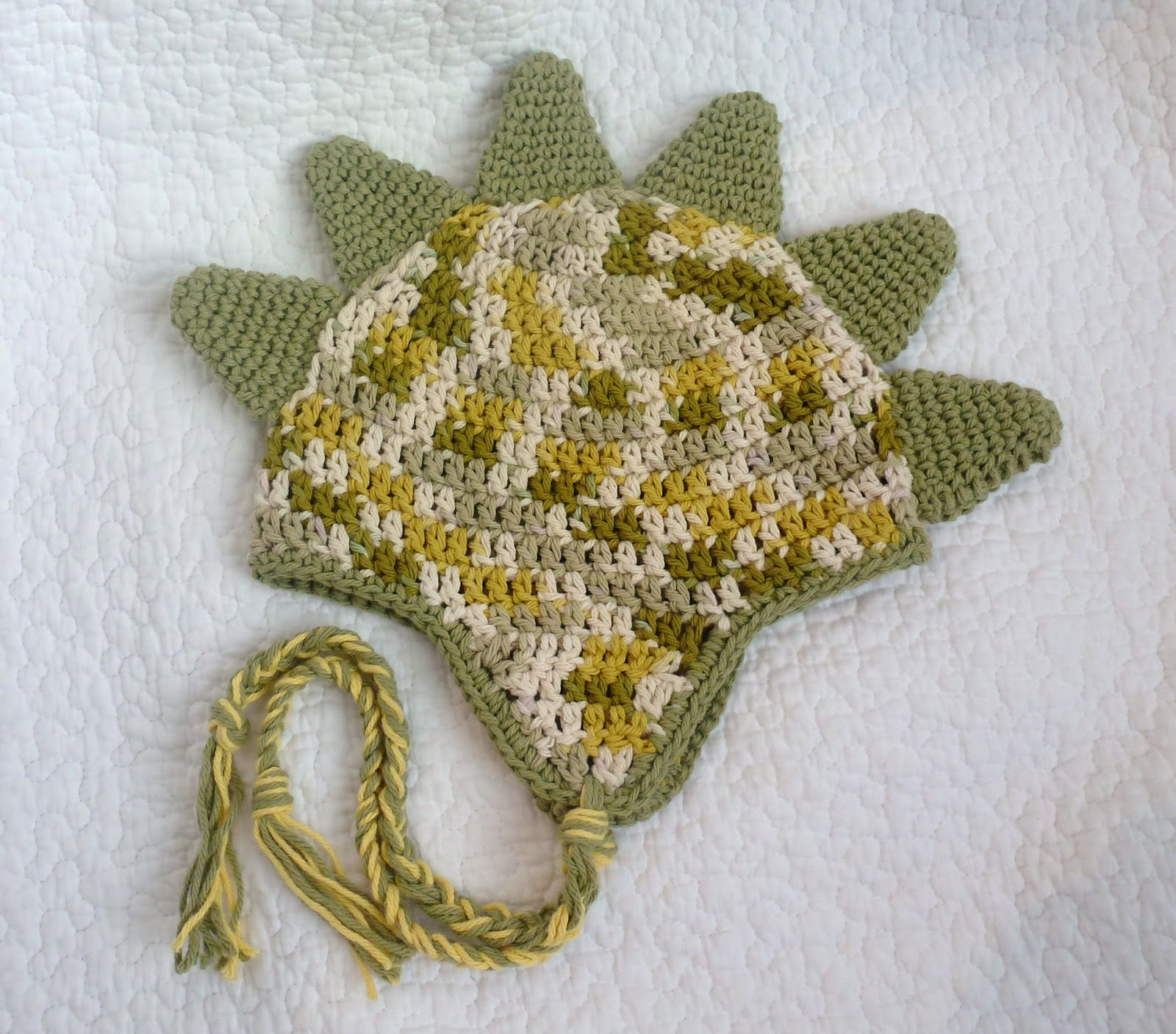 Pixie HeartStrings: Dinosaur Spike Pixie Hat Pattern...