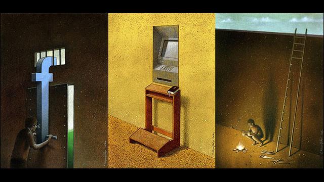 「おっ」と思ったPawel Kuczynskiの風刺画アート