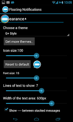 Floating Notifications (Full) v1.3 Apk Android