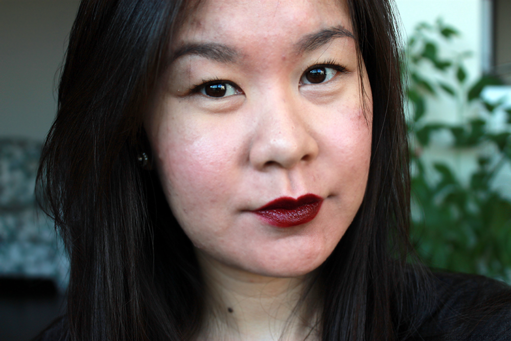 OCC Black Dahlia Review Swatch Obsessive Compulsive Cosmetics