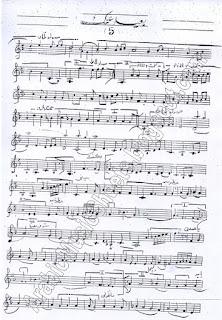""" Baed Annak "" Song Sheet"