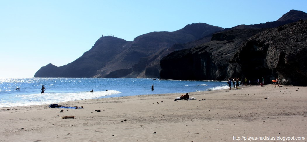Monsul beach (Cabo de Gata, Almeria, Spain)