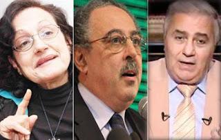 فاروق جويدة وسمير مرقص وسكينة فؤاد, يعلنون استقالتهم من الفريق الرئاسي