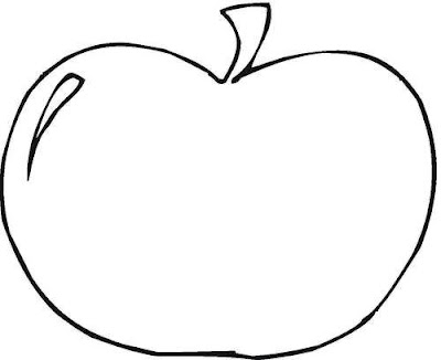 Big Apple Coloring Page