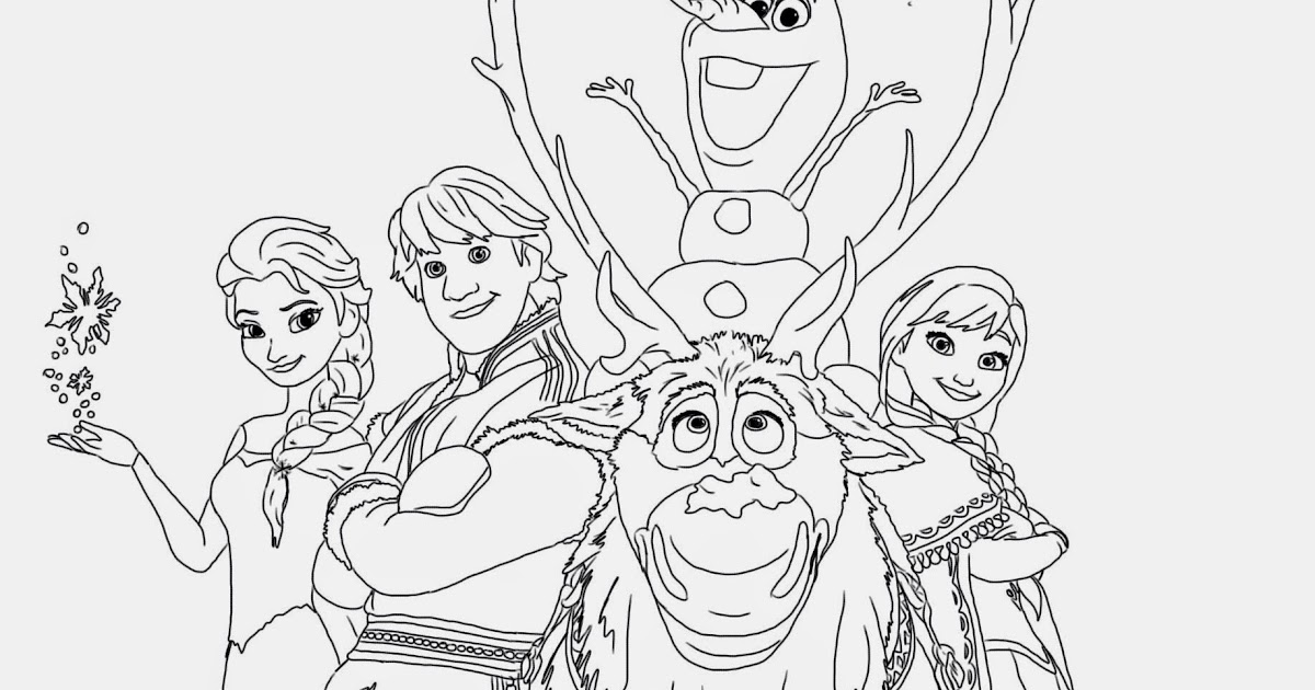 disney frozen coloring pages printable is a part of frozen coloring ...