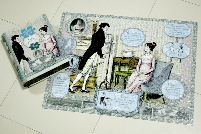 Pride and Prejudice jigsaw puzzle