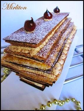 Crousti Bûche Chocolat praliné