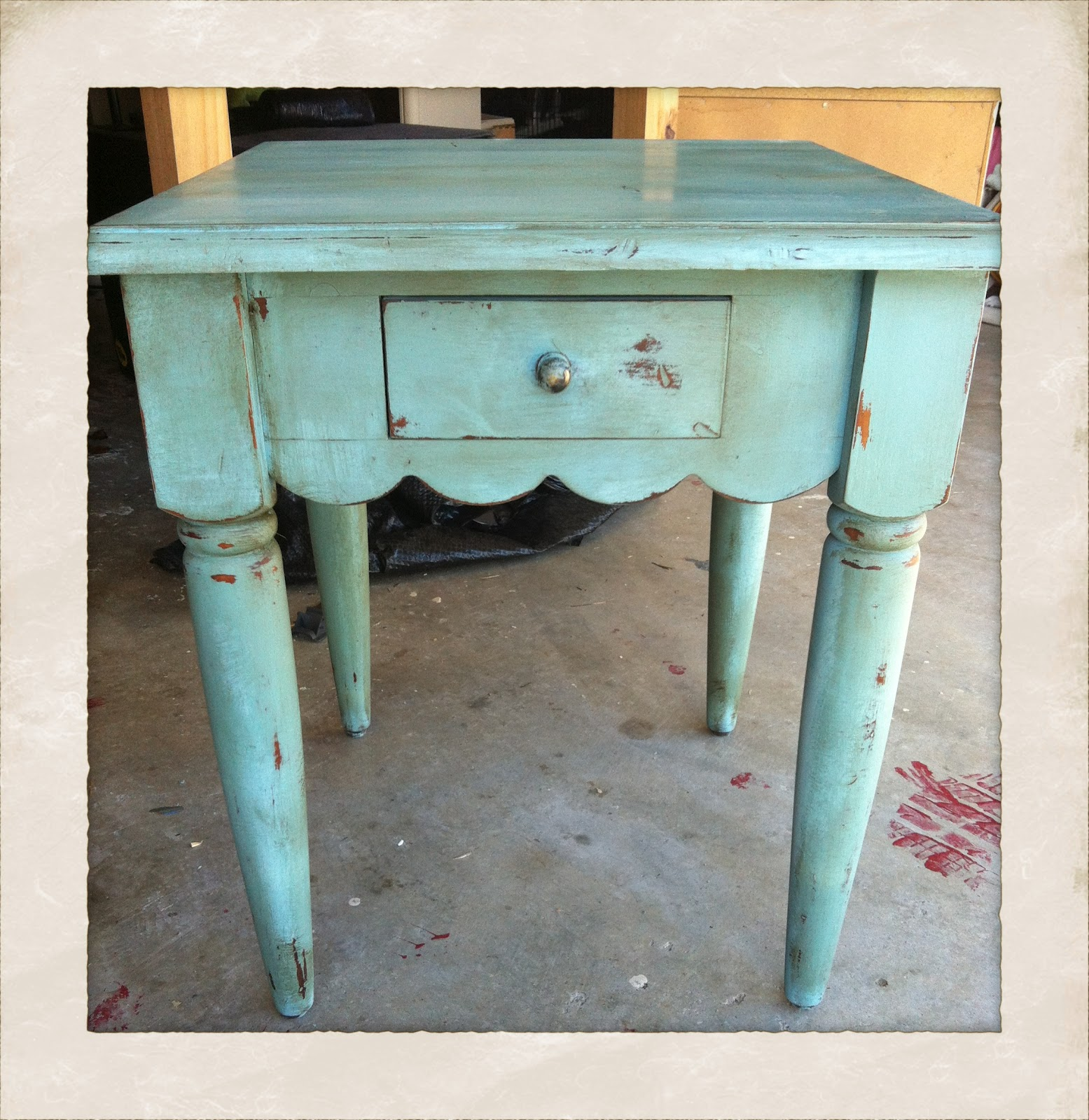 clear wax and dark over - Waxing Your Furniture - Vintage Charm Restored