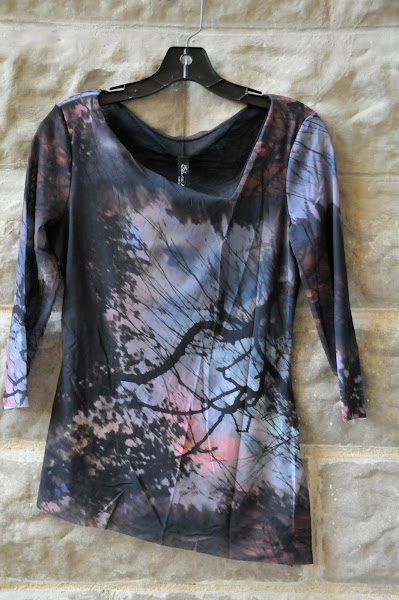 Midnight floral blouse.  $112
