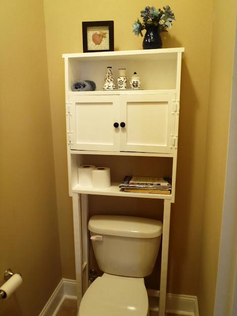 lazy liz on less space saver for bathroom