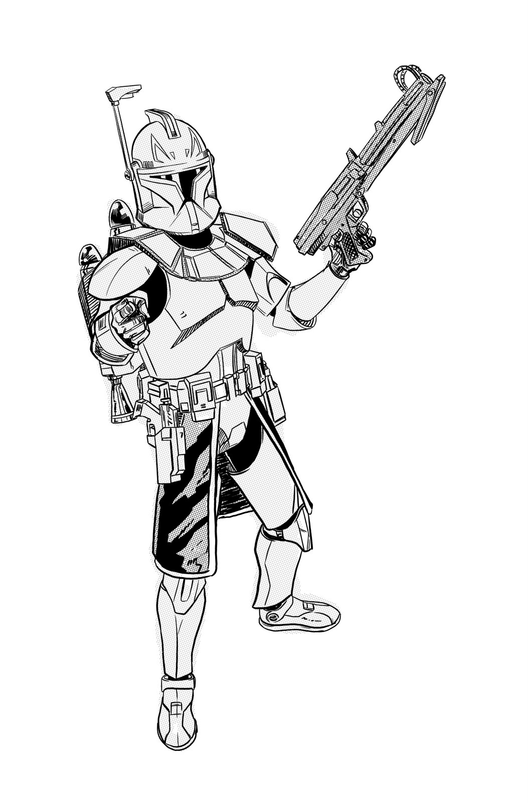 commander cody coloring pages - photo#18
