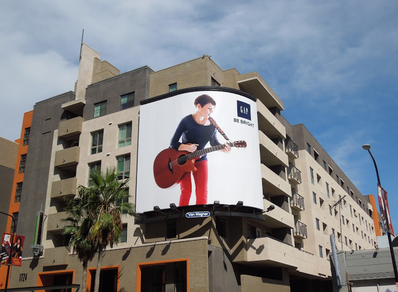 Gap Kaki King Modern Icons billboard Hollywood