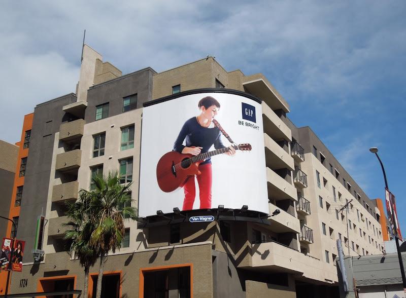 Gap Kaki King Modern Icons billboard Hollywood