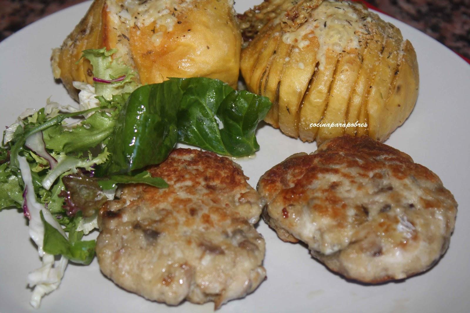 Cocina para pobres hamburguesa de caballa con libritos de for Cocina 5 ingredientes jamie