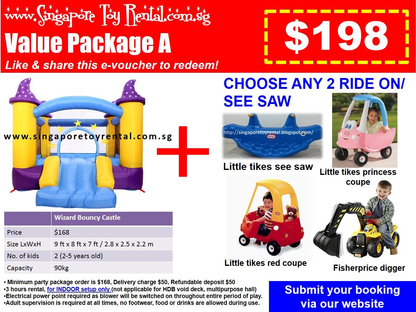 Singapore Toy Rental Party Toys Rental