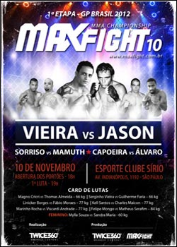 lancamentos Download   Max Fight 10   HDTV AVi + RMVB (2011)
