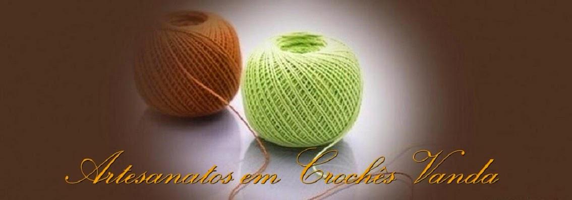 Artesanatos em Crochês Vanda