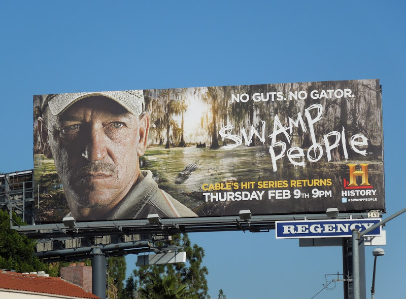 Swamp People 3 TV billboard