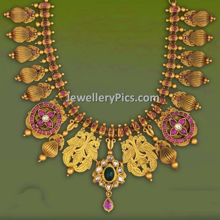 kundan antique set
