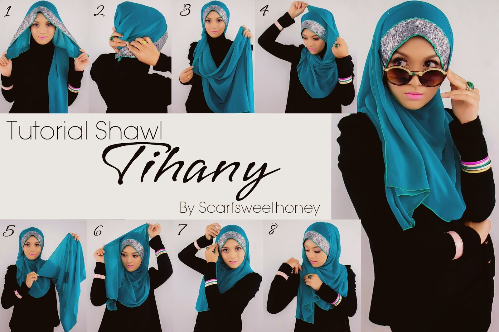Hijab Tutorial Shawl Dual Tone Shawl Hijab Tutorial Hijab