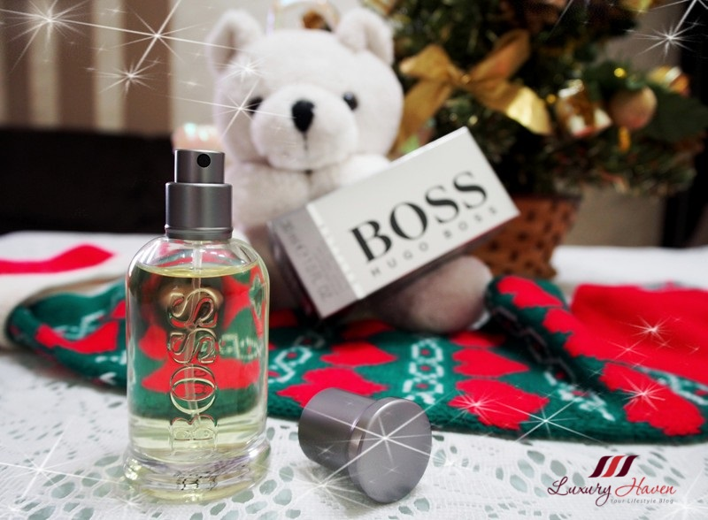 boss bottled eau de toilette fragrance christmas giveaway