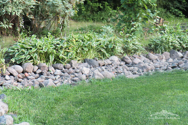 Bliss ranch rock river landscape removal for Landscaping rock removal