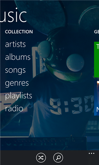 Xbox Music for Windows Phone 8.1