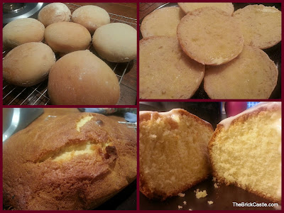 Bread Rolls and 5 Minute Lemon Cake recipe