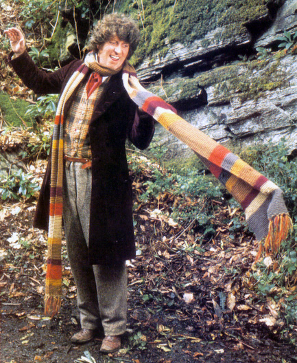 Vermont Pbs Doctor Who Scarf Knitting Or Crochet Pattern