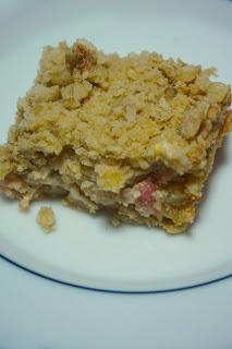 Rhubarb Cream Cheese Bars: Savory Sweet and Satisfying