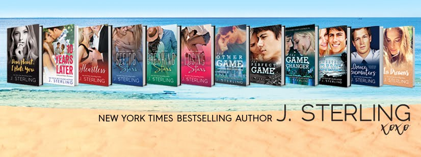 New York Times Bestselling Author, J. Sterling