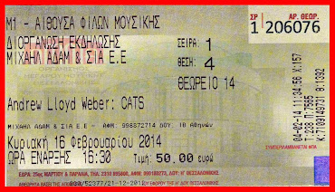 """""""CATS"""" - The Musical :"""