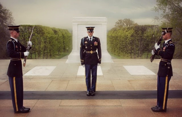 Cambio de guardia Washington