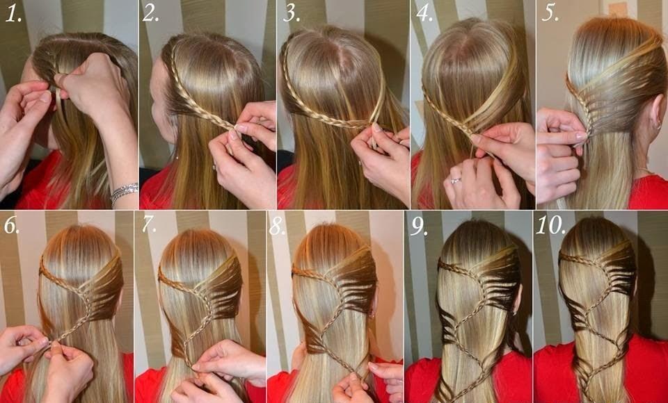 Красивые лёгкие причёски поэтапно для начинающих