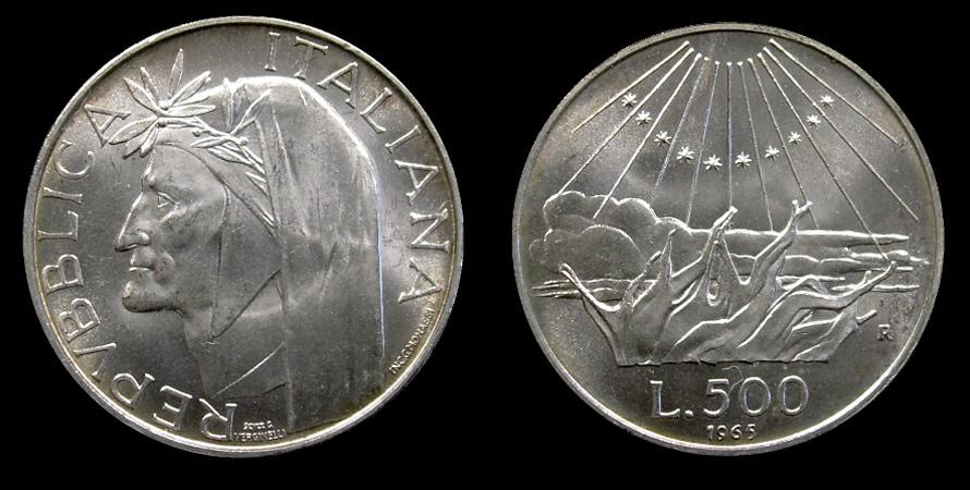 numismatica & filatelica,,,  - Pagina 5 500lireDante
