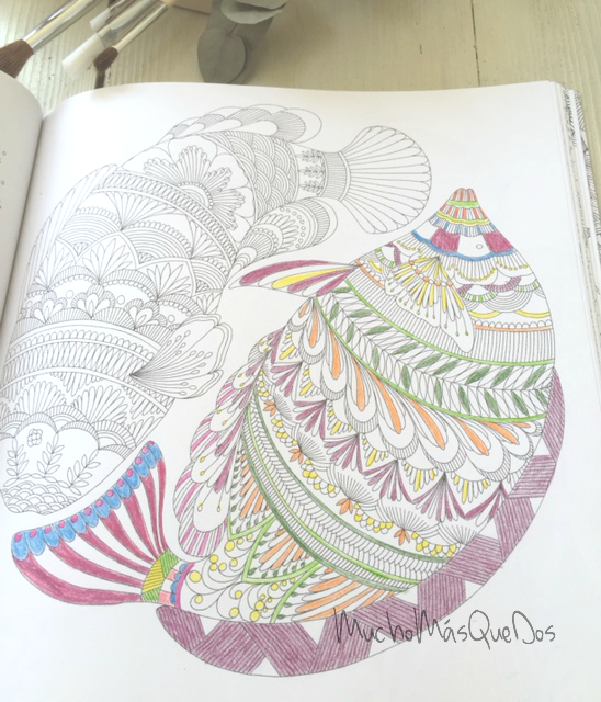 Mucho Más Que Dos: Libros para Colorear . Mi nueva terapia .