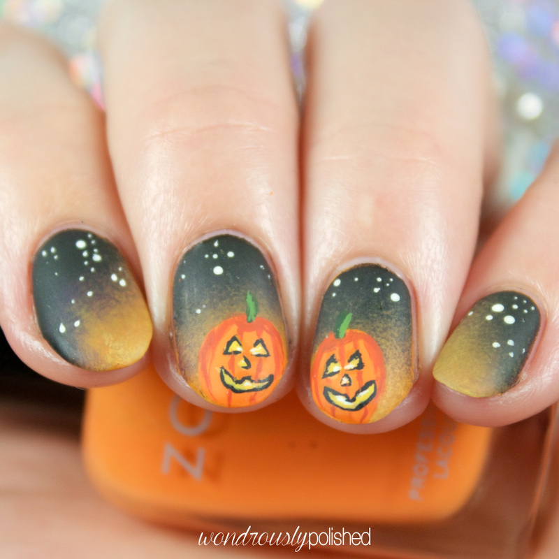 Wondrously Polished: Themed Thursday - October 1st: Jack-o-Lanterns