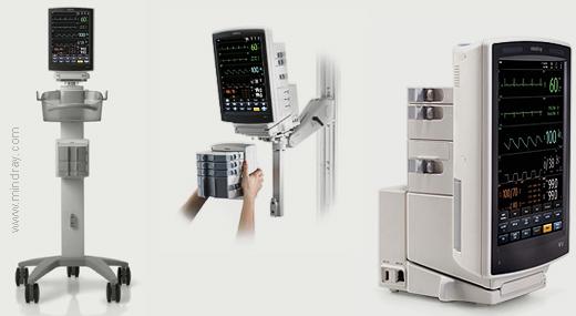 Mindray V12 and V21 Patient Monitor adaptability