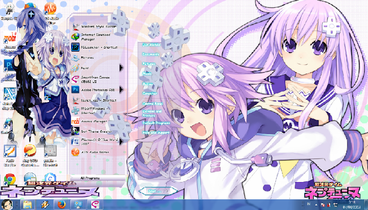 [ Theme Win 7 ] Choujigen Game Neptune 1