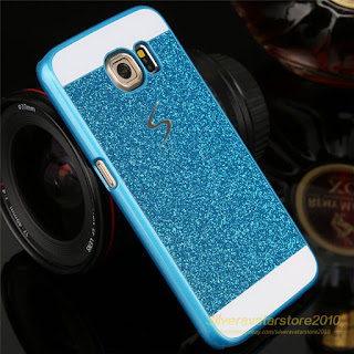 Sparkle Shiny Glister Hard Girl Phone Case Cover for Samsung Galaxy S4/5/6/NOTE4