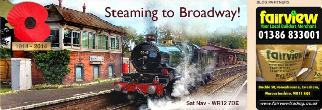 Steaming to Broadway!