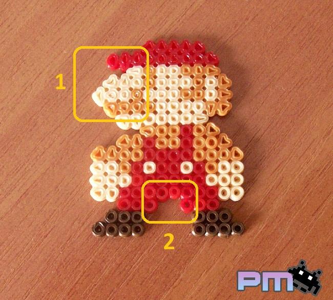 Pixels mil peripecias con los hama beads - Papel de transferencia para plancha ...