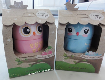 Etude House Missing U hand cream - I can fly very berry cherry and sweet cotton candy
