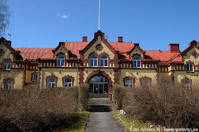 Mark, Marks kommun, Marks härad, härad, tingshus, tingshuset, Skene